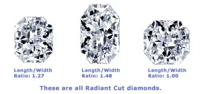 diamond radiant i amazing colorless sparkle loose cut index gia jewelry