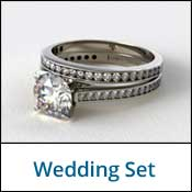 wedding set rings